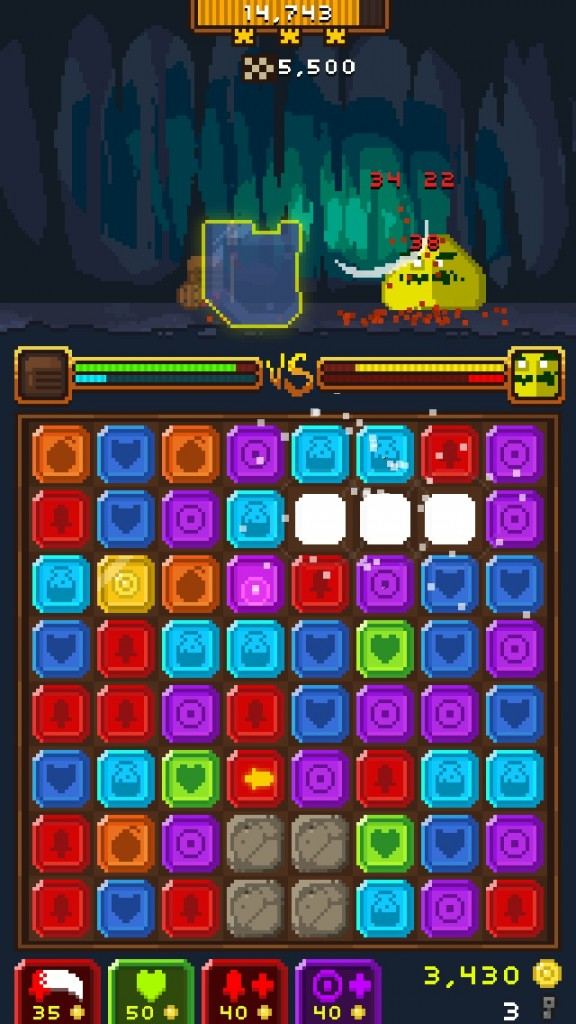 Match, Fight, And Collect Tons Of Loot In The Match-Three RPG Hybrid Horde Of Heroes