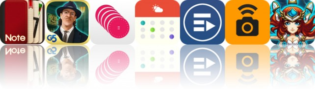 Todays Apps Gone Free: NoteLedge, Paranormal Agency, Fabrika And More