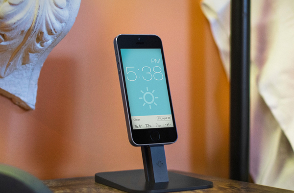 The Fantastic HiRise Stand For The iPhone And iPad mini Is Now Available In Black