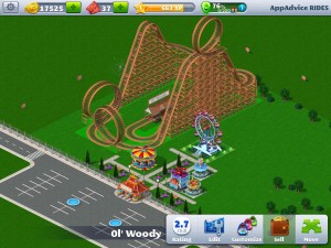 RollerCoaster Tycoon® 4 Mobile™ by Atari screenshot