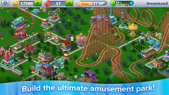 It's Time To Build As RollerCoaster Tycoon 4 Mobile Debuts On App Store
