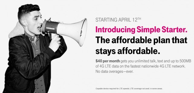 T-Mobile Unveils The Simple Starter Plan