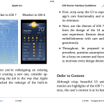 iOS Human Interface Guidelines.