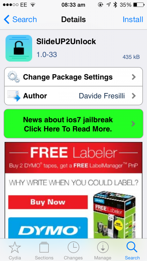 Cydia Tweak: How To Unlock Your iPhone By Sliding Up On The Lock Screen