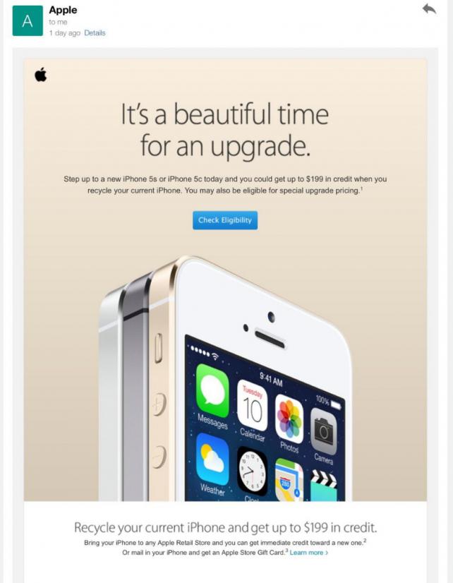 Apple's Big In-Store iPhone Upgrade Event Begins