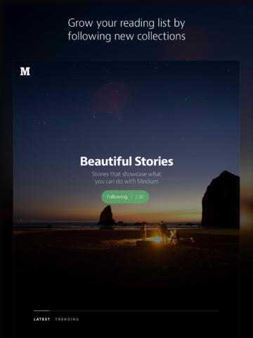Medium For iOS Gets Supersized As It Goes Universal For iPad