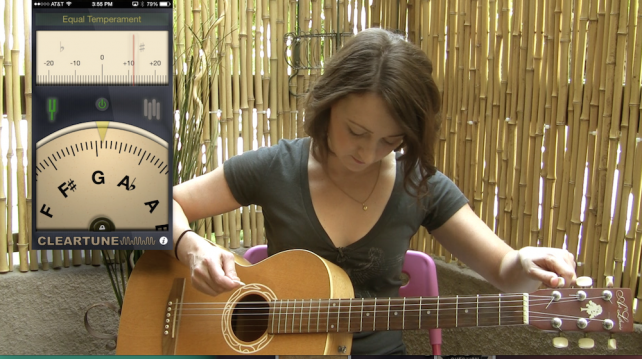 AppAdvice Daily: Learn Guitar Using Your iPhone Session 1 – Guitar Tuners