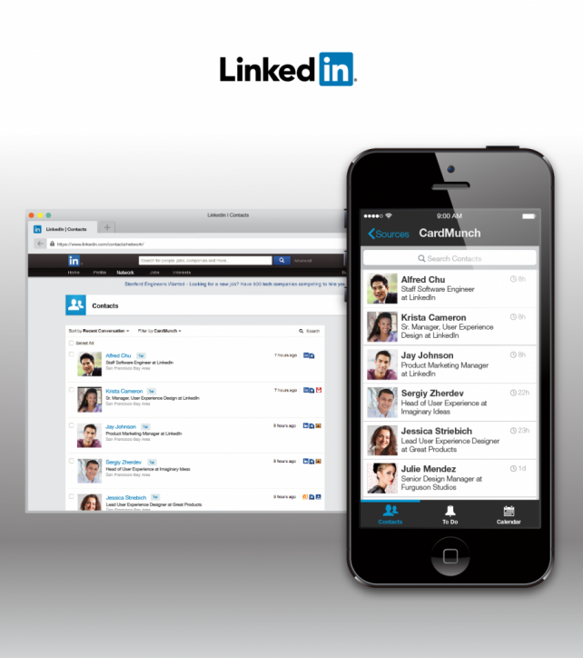 LinkedIn Discontinues CardMunch, Partners Up With Evernote For Better Business Card Scanning