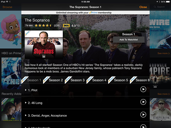 HBO Content Now Appearing On Amazons Prime Instant Video Service