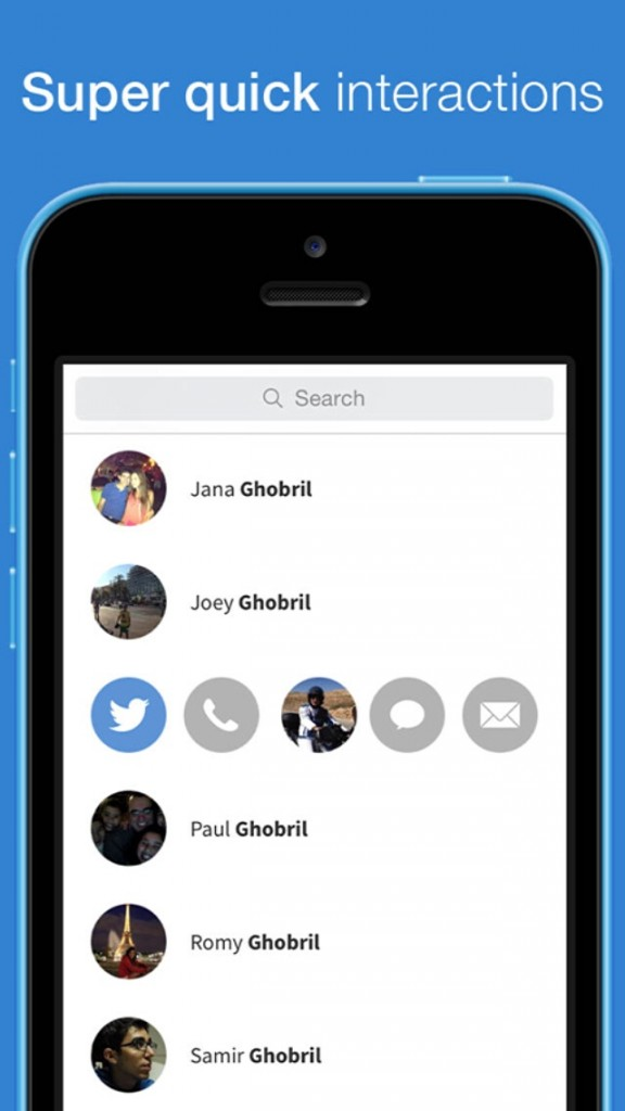 Mingle: Action-Based Contacts Could Be The Best, Fastest Contacts App