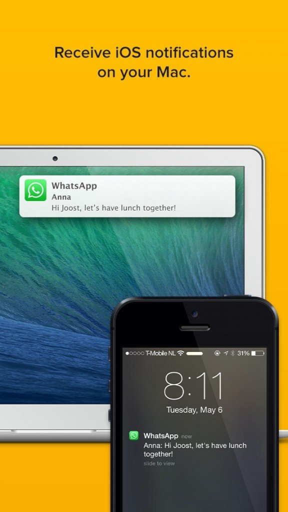 Notifyr For iPhone Can Send iOS Notifications Over To Your Mac