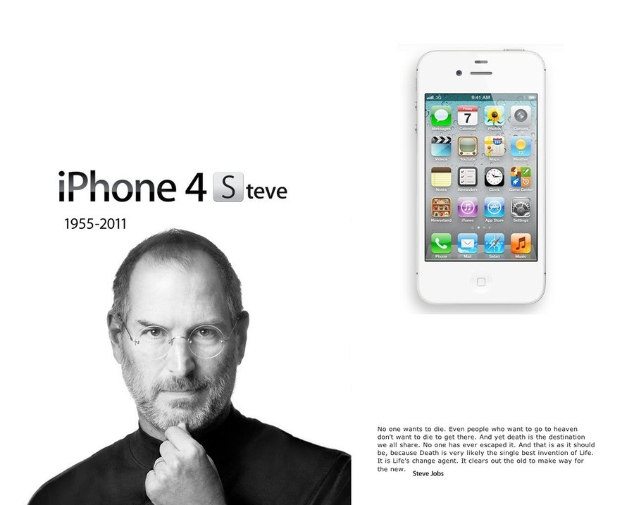 Why Cant Steve Jobs Make Iphone At >> Steve Jobs Is Probably Smiling From Above As Apple S Iphone 4s
