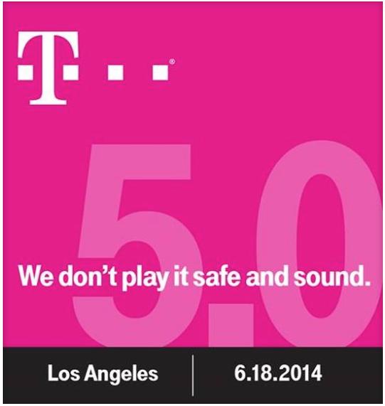 More Disruption Ahead As T-Mobile Announces Uncarrier 5.0 Event