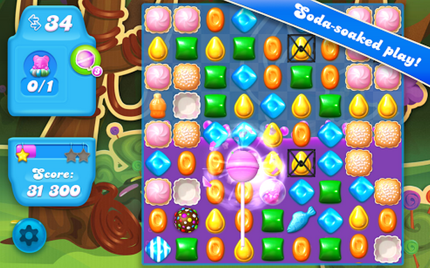 Sweeter The Second Time Around: Candy Crush Saga Sequel Is Soaked In Soda