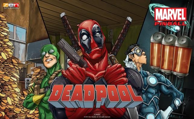My Common Sense Is Tingling: Zen Studios And Marvel Unveil New Deadpool Pinball Table