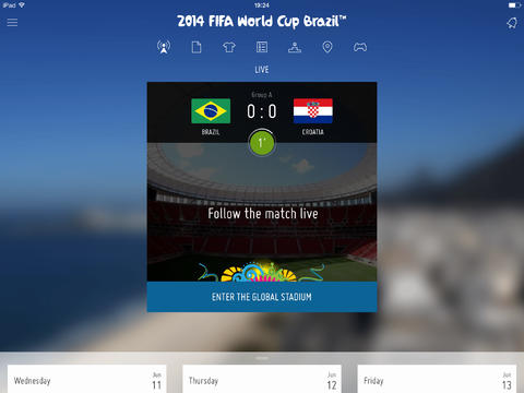 FIFA Updates Official iOS Apps With More Features For 2014 World Cup In Brazil
