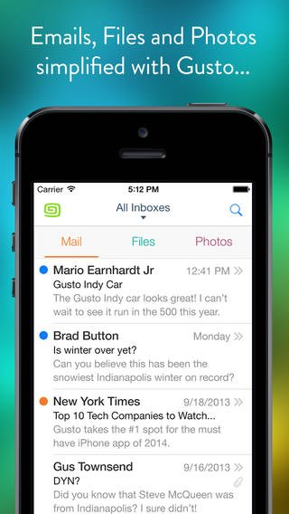 Gusto Now Lets You Use Your Outlook.com, iCloud And Other IMAP Email Accounts