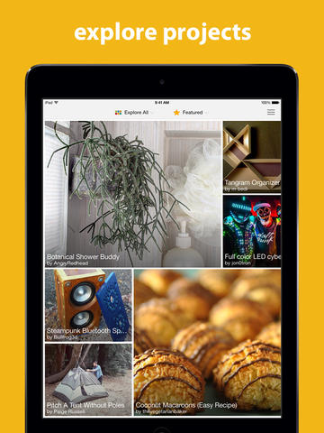 Autodesk's Instructables DIY App Goes 2.0 With iPad Support And iOS 7 Redesign