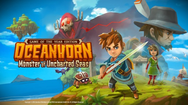 Experience Oceanhorn At Its Best With Its Upcoming 'Game Of The Year Edition' Update