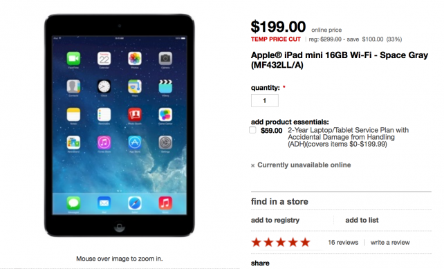 Target Is Offering The First-Gen iPad mini From $199 As Part Of Its Father's Day Sale