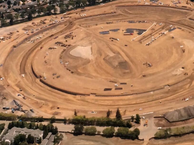 Progress On Apple's Futuristic Spaceship-Like 'Campus 2′ Continues