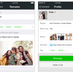 WeChat tag contacts