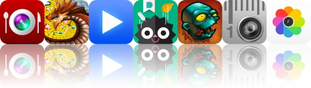 Todays Apps Gone Free: InstaFood, Dungeon Plunder, LeechTunes And More