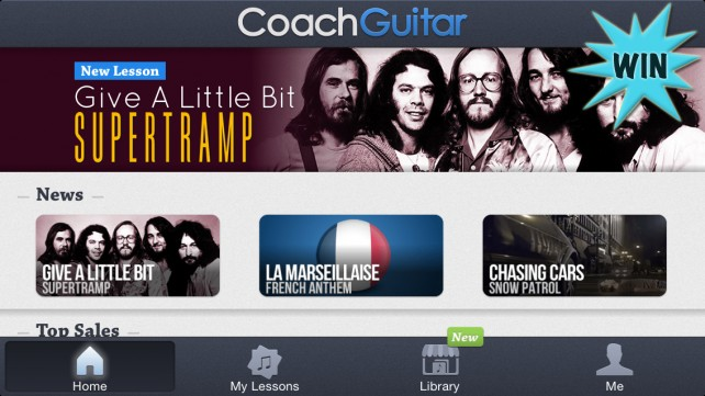Learn To Play Guitar For A Chance To Win A $15 iTunes Gift Card