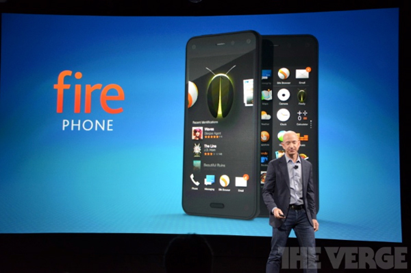 Amazon Officially Unveils The Fire Phone To Compete Against Apple's iPhone