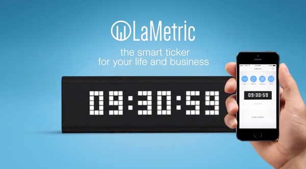 LaMetric Is A Real-Time, Smart Display That Can Be Programmed With Your iPhone