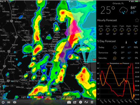 MyRadar Weather Radar Update Brings An Improved Display For The iPad And More