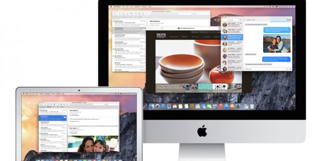 OS X Yosemite - seznam podporovaných počítačů Mac