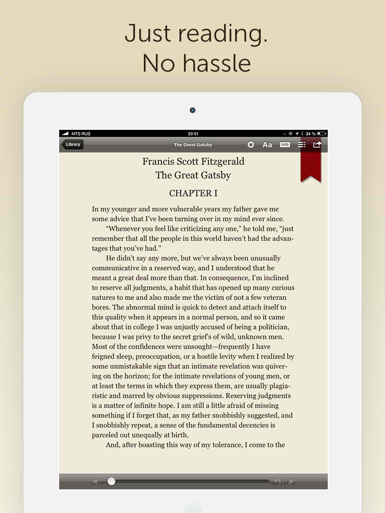 Bookmate for iPad