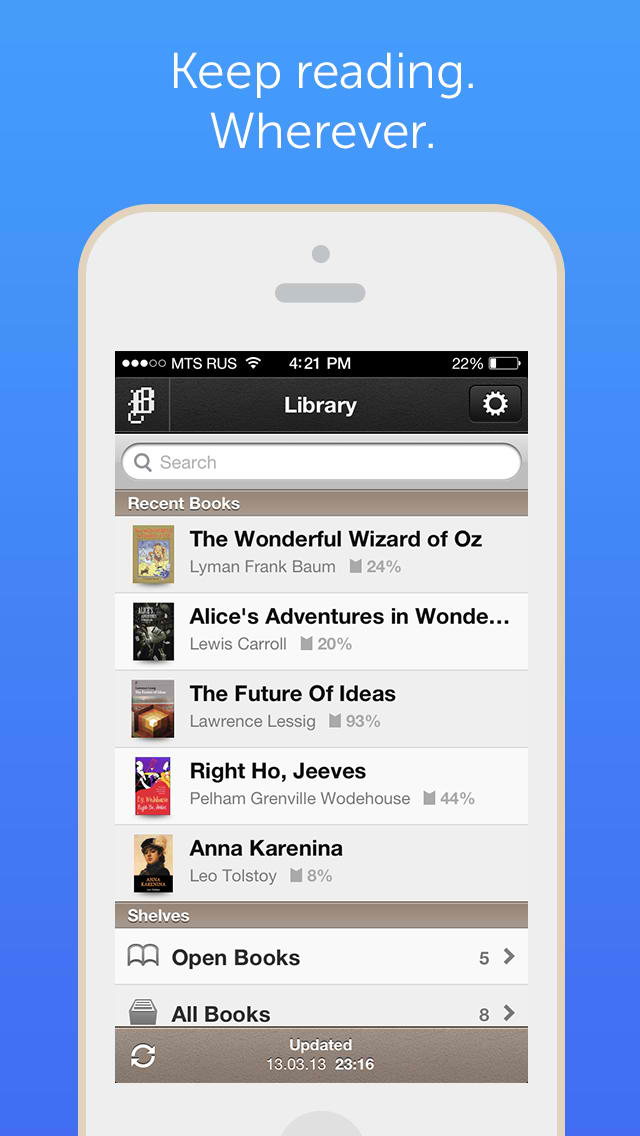 Bookmate for iPhone