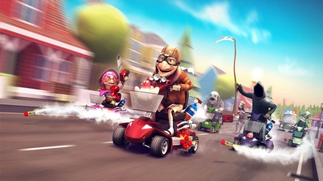 Kickstart This To Life: Coffin Dodgers Is A Death-Defying Mobility Scooter Racing Game
