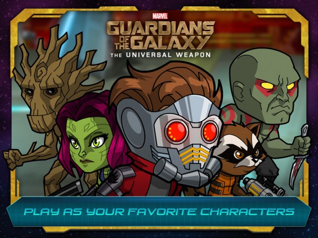 Marvel's Guardians of the Galaxy: The Universal Weapon is on sale this weekend