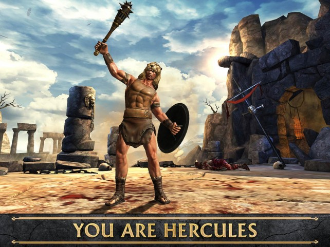 Upcoming 'Hercules' Film Starring The Rock Gets Official Hack-And-Slash Game For iOS