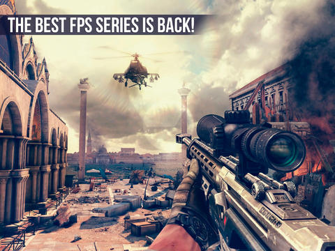 The long wait is over … Gameloft's Modern Combat 5: Blackout is out now on iOS