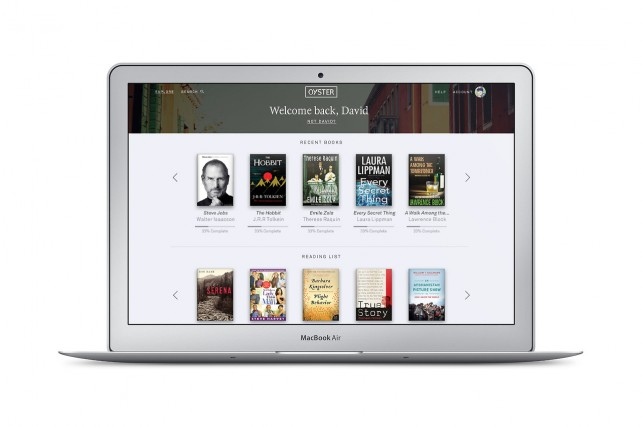 Kindle Unlimited and Scribd competitor Oyster now available on the Web