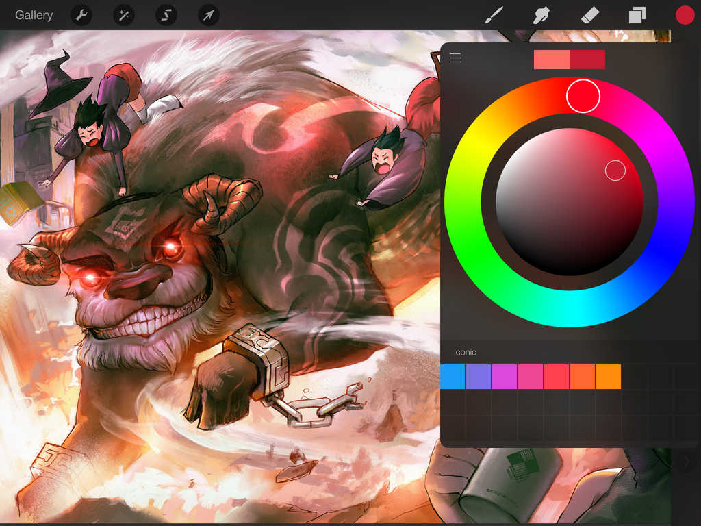 Powerful IPad Drawing App Procreate Gets Even Better With New Colorful Update
