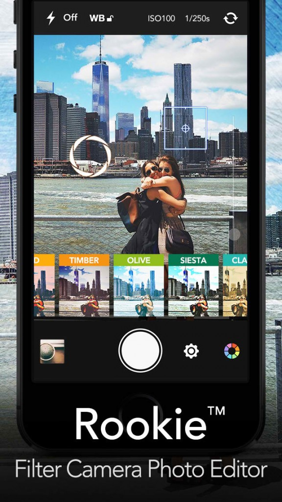 Rookie 2.0 boasts professional photo-editing features on iOS