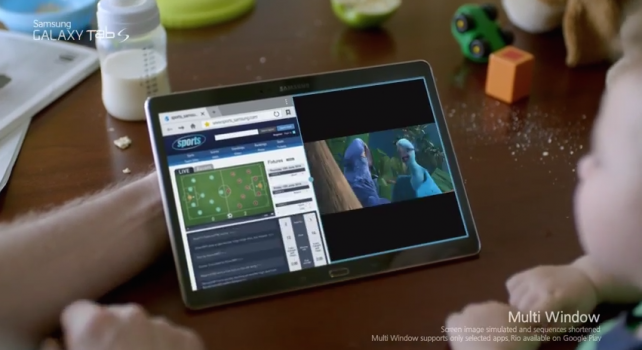 Do you see what I see? It's Samsung bashing Apple's iPad in these Galaxy Tab S ads