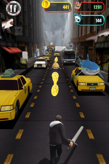 Shark Happens! Sharknado: The Video Game Invading The App Store Soon
