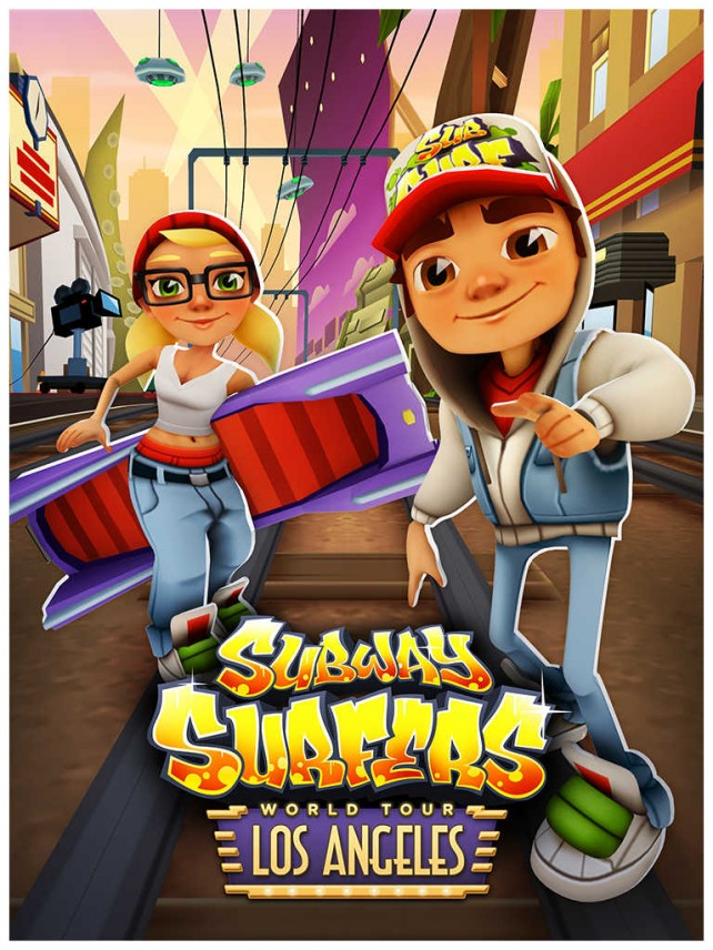 Subway Surfers Goes To Hollywood In The Los Angeles