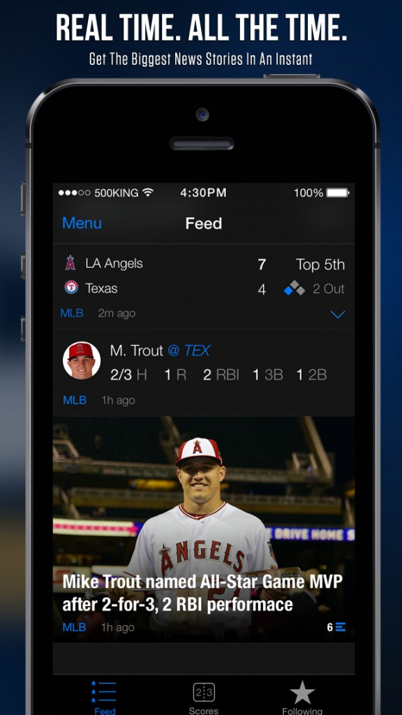 TheScore update hits it out of the park with enhancements ...