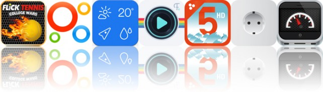 Todays Apps Gone Free: Flick Tennis, Intervals, Weathercube And More