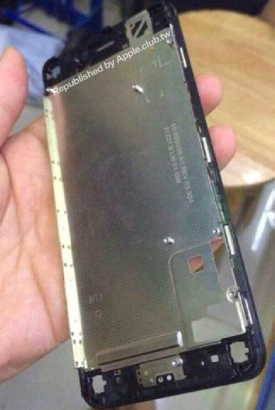 New photo purportedly shows LCD frame of Apple's 'iPhone 6′