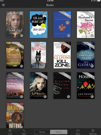 Amazons Kindle app updated with features to make syncing and navigation easier