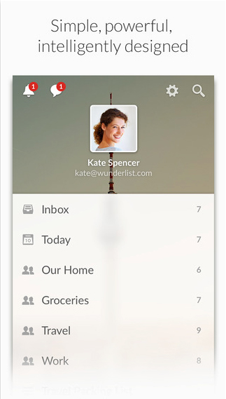 Wunderlist 3 arrives on the App Store with a new design and much more