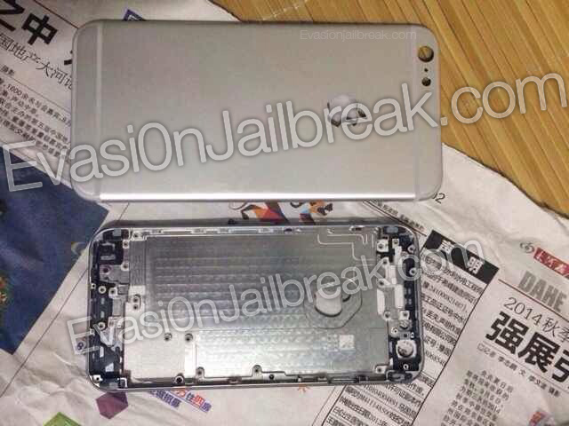 Newly leaked photos purportedly show rear shell of 5.5-inch 'iPhone 6′